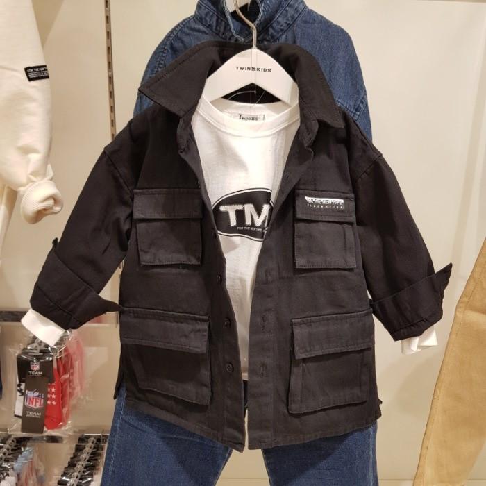 트윈키즈 NC05 데님셔츠2 T9FT3Y04