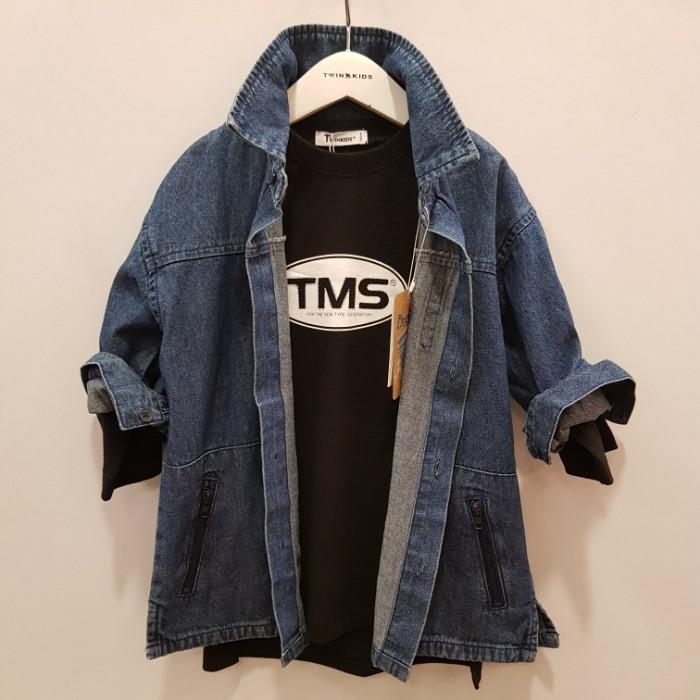 트윈키즈 NC05 데님셔츠 T9FT2Y02