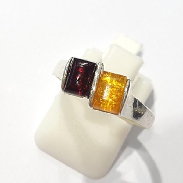 [블루케이] 호박 원석 반지 n191014-16