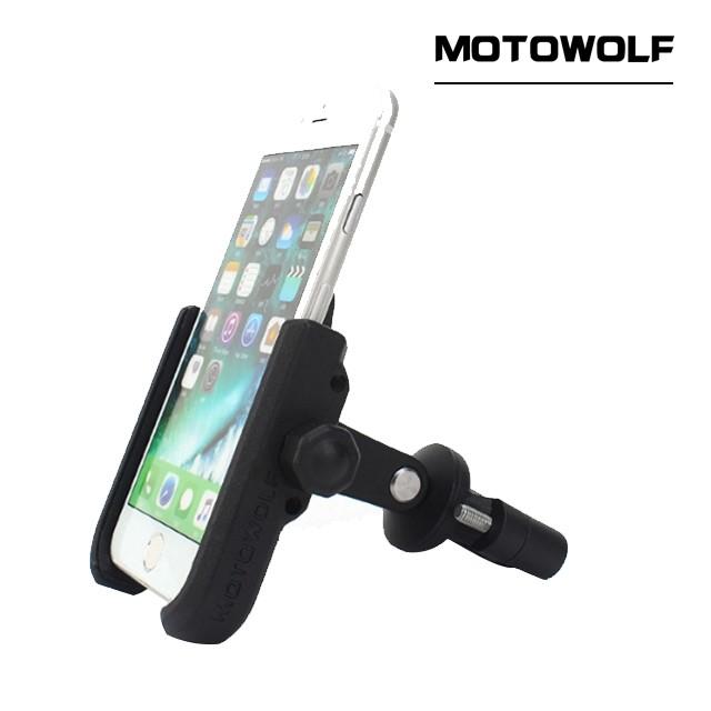 모토울프 MDL2805 스마트폰거치대 자전거, 전동킥보드, 오토바이 휴대폰 거치대
