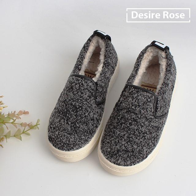 [디자이어로즈] 아동슬립온 겨울슬립온 양털안감 신발 150-220 ES3425