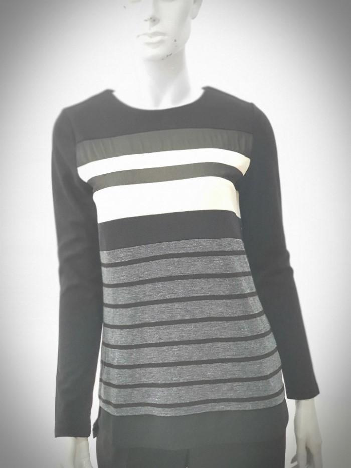 [조이너스 ] 가로줄무늬티셔츠 JA6W0-WKL050