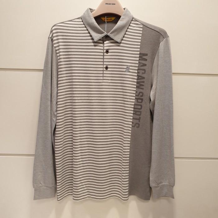 마코(MACAW) NC05 스트라이프믹스 티셔츠 MHM3-TS05