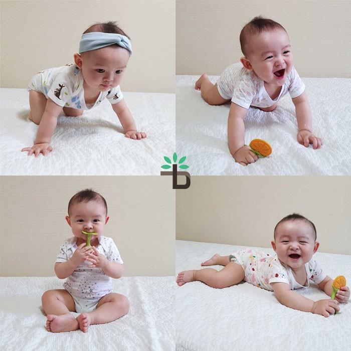[트리베어] 5종set 아기옷 유아옷 출산용품 반팔 (2-10개월)
