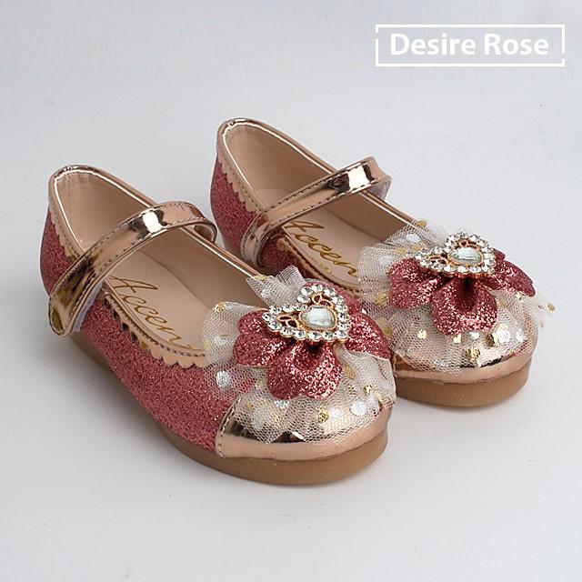 [디자이어로즈] 초등학생 여아구두 불들어오는 신발 150-200 ES3442