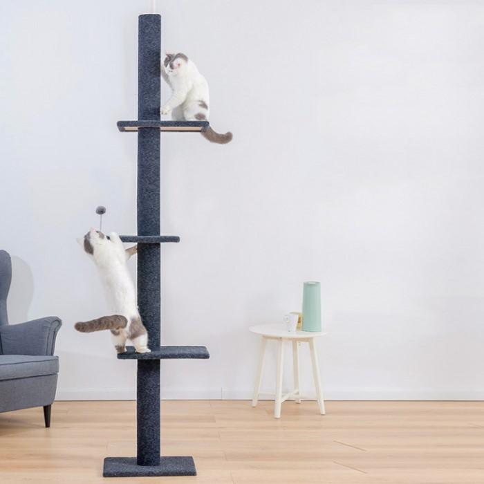 [펫블라썸] 고양이 스크래쳐 하우스 집 장난감 캣타워 DIY 캣폴