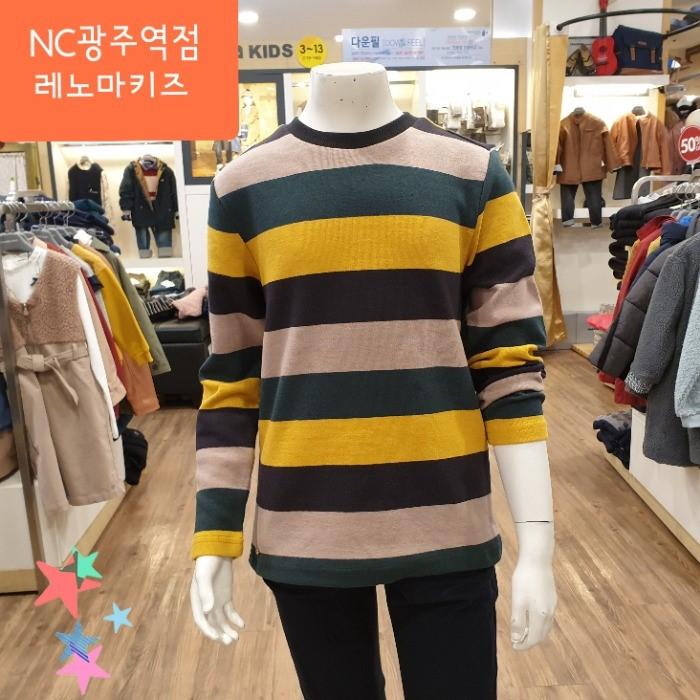 레노마키즈 NC05 스트라이프 티셔츠 R1942T123