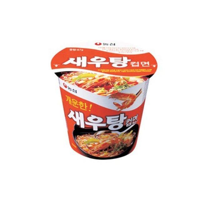 농심 새우탕 소컵15개 컵라면
