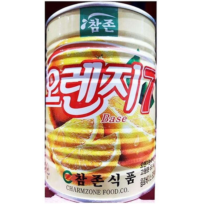 오렌지 농축액 음료베이스 식자재도매 (835mlX1개...