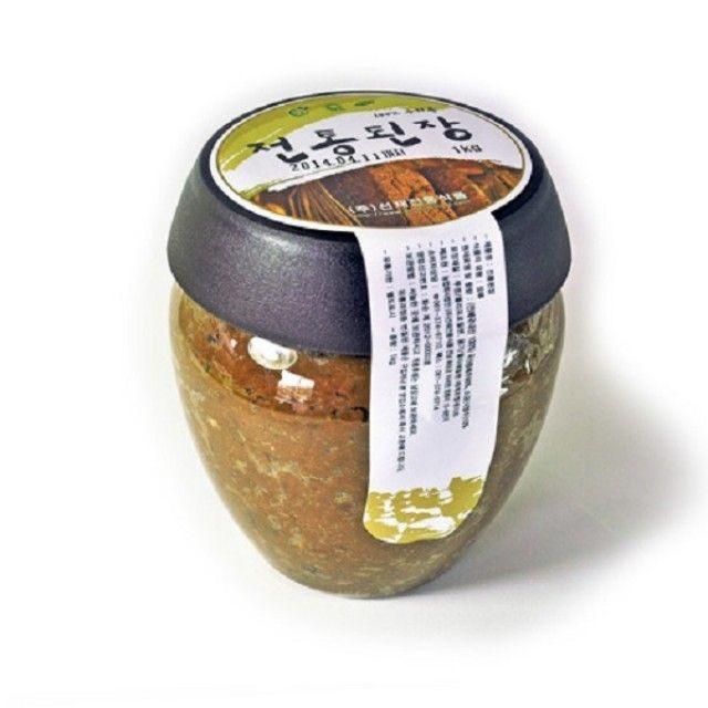 전라도 우리콩 전통재래된장1kg