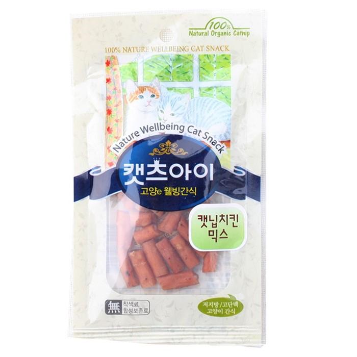 캣츠아이 치킨믹스 22g (캣닢함유) (고양이간식)