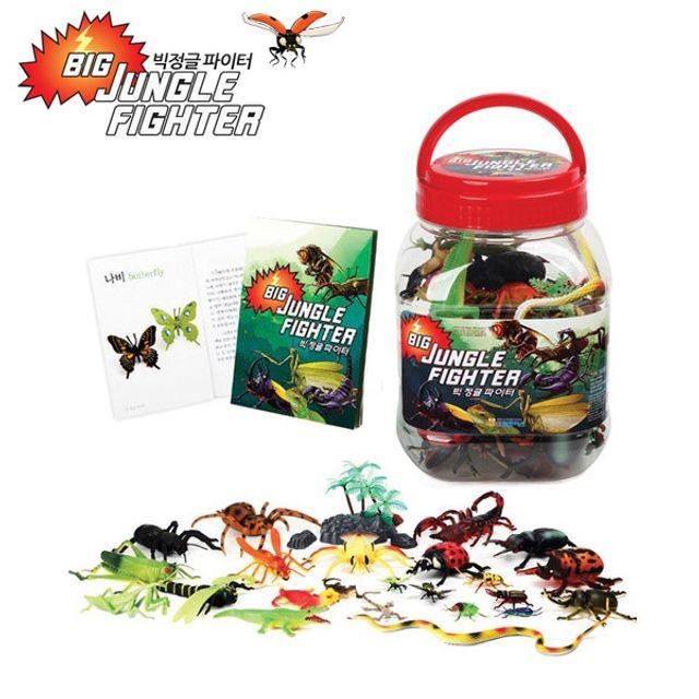 빅 정글 파이터 곤충학습 장난감 곤충모형 학습완구