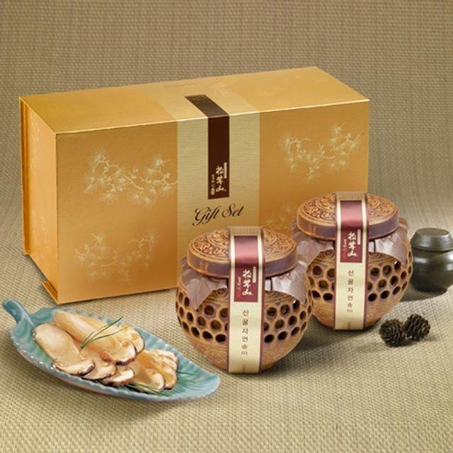 양양 산(山)꿀 자연송이 담은꿀(도자기) 400gX2개