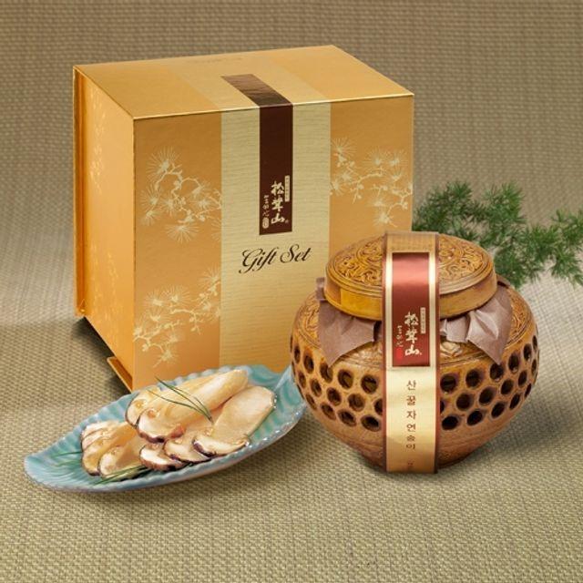 양양 산(山)꿀 자연송이 담은꿀(도자기) 600g