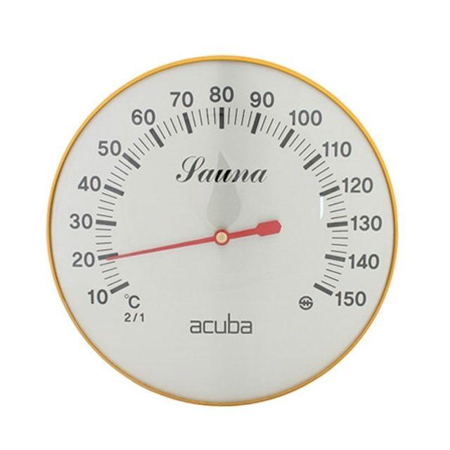 .아쿠바 아날로그 사우나온도계 CS-202 2매