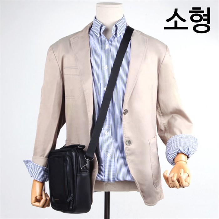 30대 직장인 출근 메신저백 블랙 토트백 미니 가방