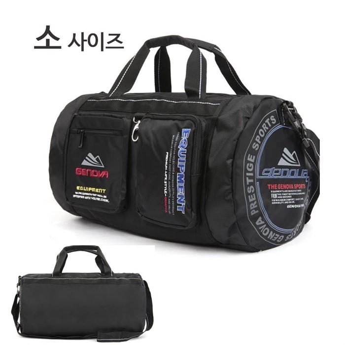 스포츠 캠핑 여행 크로스백 블랙 헬스 옷가방 더플백