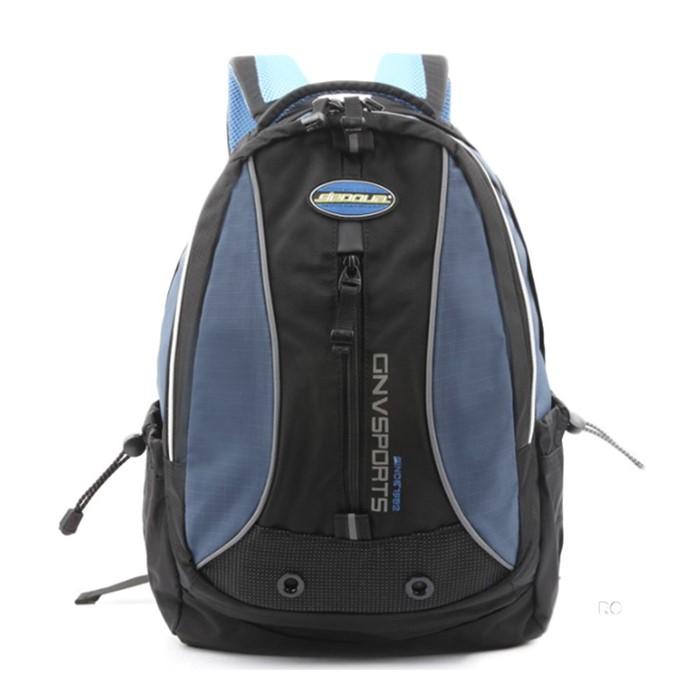 남성 여성 캐주얼 등산 배낭 블루 소형 백패킹 가방