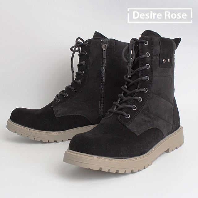 [디자이어로즈] 20대 30대 남자부츠 키높이 데저트부츠 사막화  MS0508
