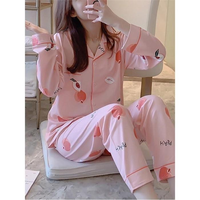 [일루아] 피치루루 파자마 잠옷세트