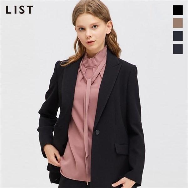 리스트 LIST NC05 라펠  베이직 재킷 TWSJKJ80020