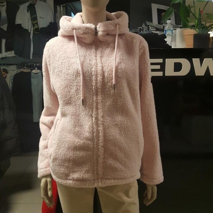 EDWIN NC08 기모 안감 밍크퍼 후드집업 HTE987
