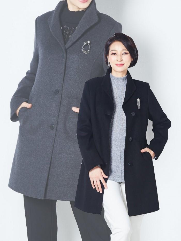 [마담엘레강스] 에이미 핸드메이드 울 코트 K194CT03