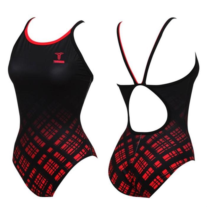 토네이도 여자 수영복 준선수용 56197 원피스 여성