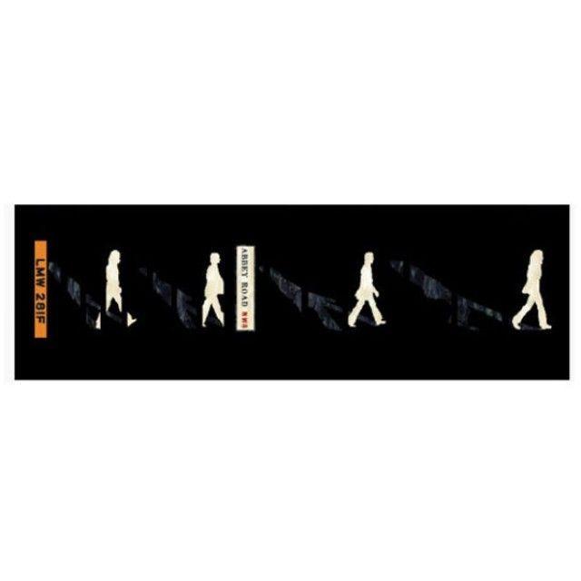 악기 스티커 Contemporary Abbey Road/Beatles
