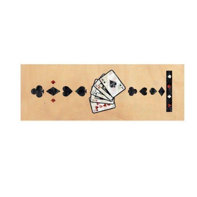 악기 스티커 Contemporary Playing Card-BP