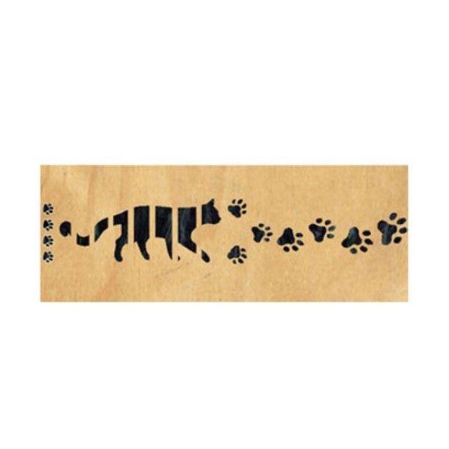 악기 스티커 Contemporary Cats Foot Print-BP