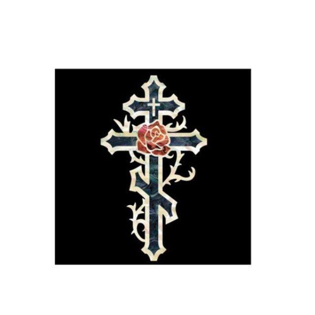 악기 스티커 Body Cross and Ross-BP