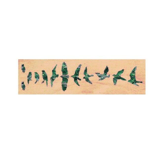 악기 스티커 Birds AG