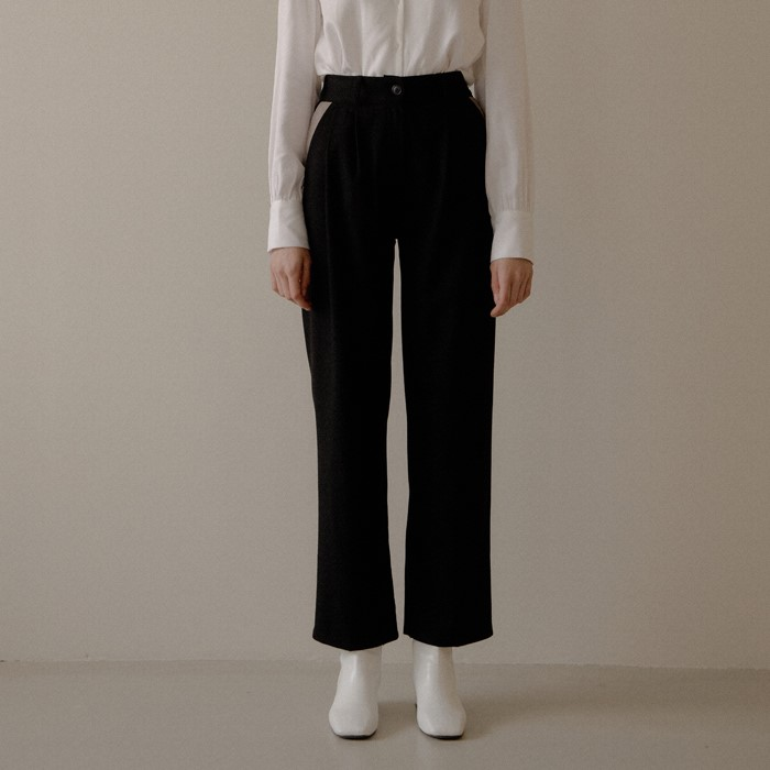 [엽페] COLOR BLOCK PANTS_BLACK