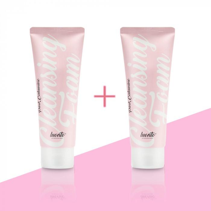 [론토] 핑크칼라민 클레징폼 1+1 /무료배송/ 저자극클렌징
