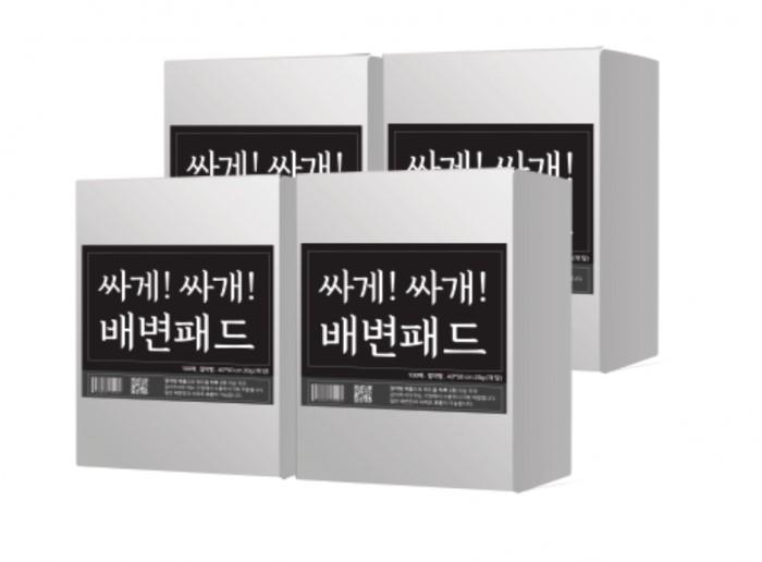 [슈퍼패드] 절약형 배변패드 싸게싸개 표준형 1box [200매x2팩]