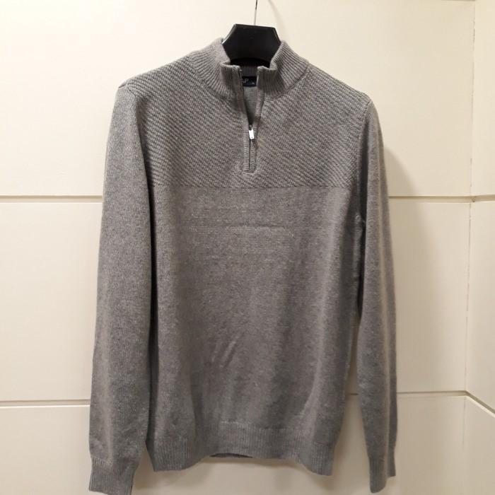 SAP (샙) NC05 샙 울혼방반집업 스웨터 MNKA20B01