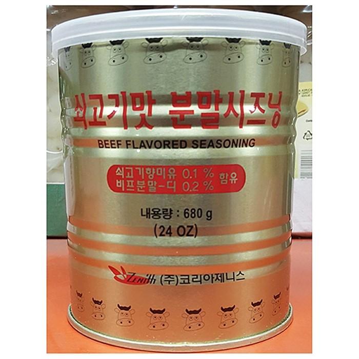 소가루(제니 스 680g)X4 식재료용품