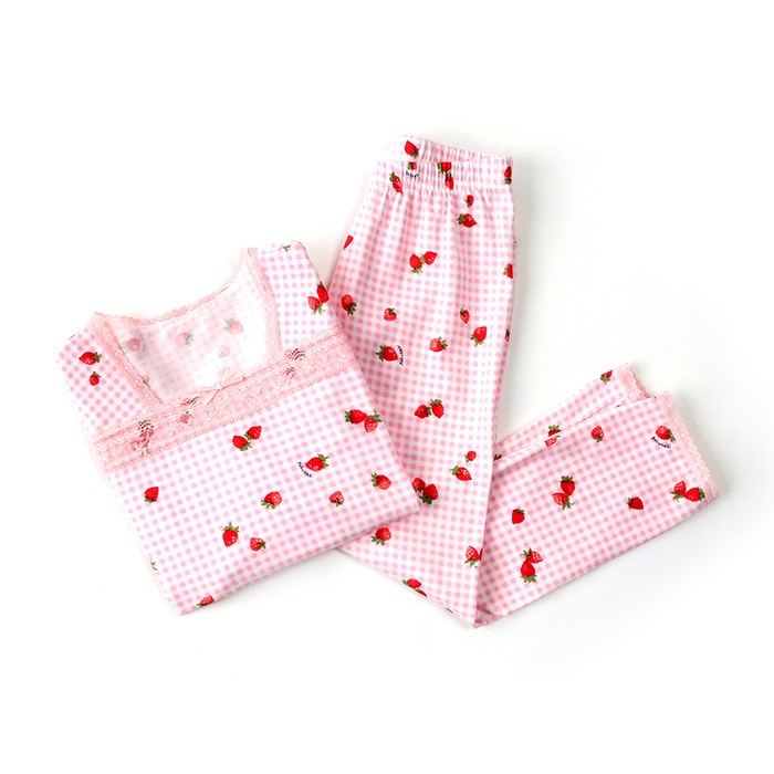 [고후나비]딸기파티스키니내복
