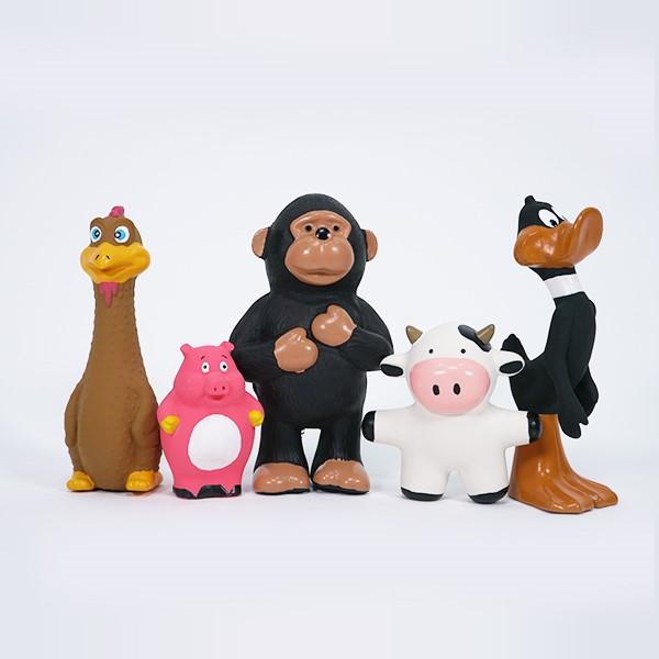 앤디와 친구들 라텍스 토이 (마크 - 돼지)
