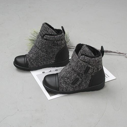 [한나] 조든 벨크로 주니어부츠 초등방한신발