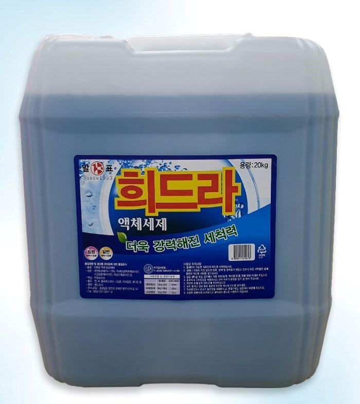 [도도플러스] 천광 말표 세탁세제 히드라20kg 말통