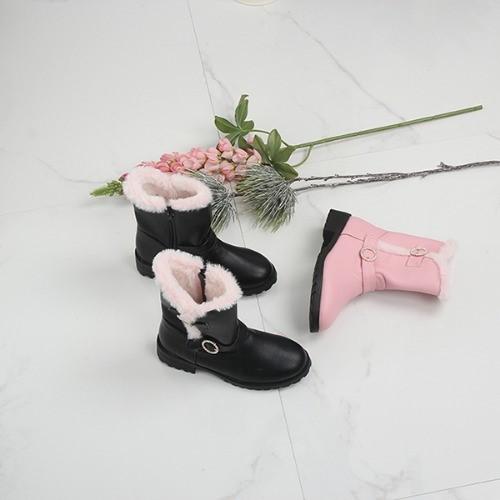 [한나] 론디 큐빅링 여아부츠 초등방한신발