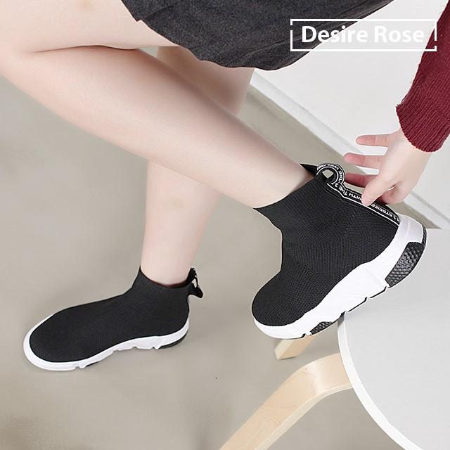 [디자이어로즈] 여성 데일리 삭스스니커즈 운동화 3.5cm WS4323