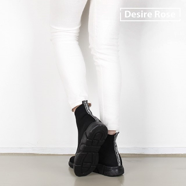 [디자이어로즈] 여자 삭스운동화 삭스스니커즈 3.5cm WS4323