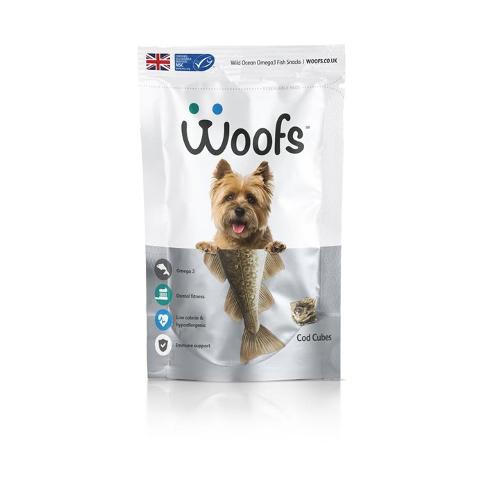 WOOFS 우프스 코드 큐브 100g