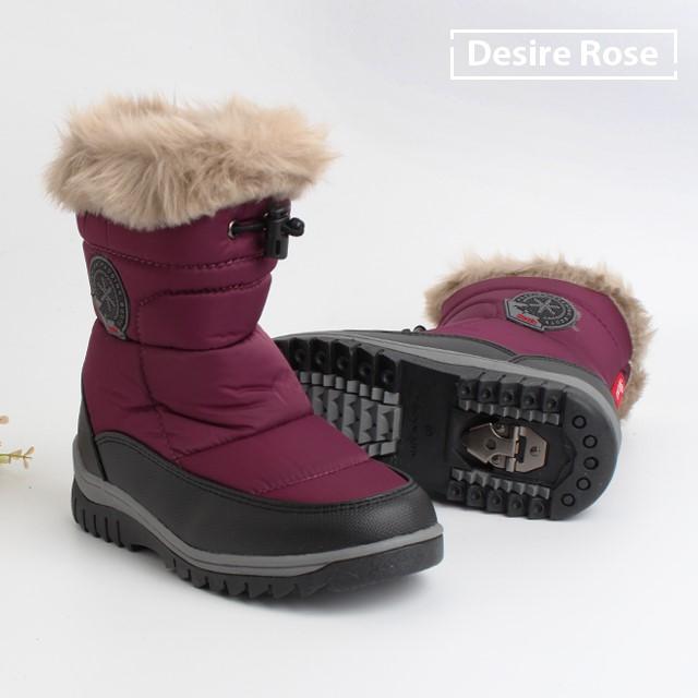 [디자이어로즈] 아동 겨울 방한 털부츠 패딩부츠 200-250 ES7414