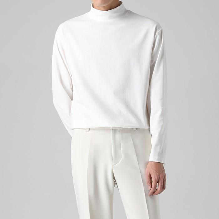 [티아그] 래나 이너 폴라 티셔츠 (11col)