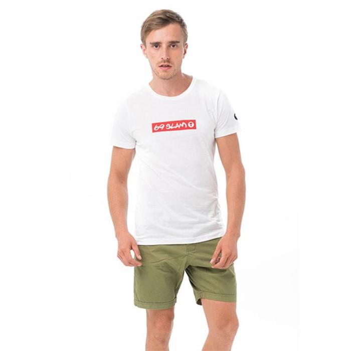 [69슬램] 남여공용 69슬램 레드(화이트) 디앤에이 티셔츠