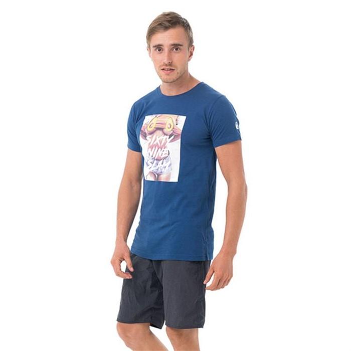 [69슬램] 남여공용 아보카도(네이비) 디앤에이 티셔츠